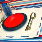DIY Placemats from Shelf Liner