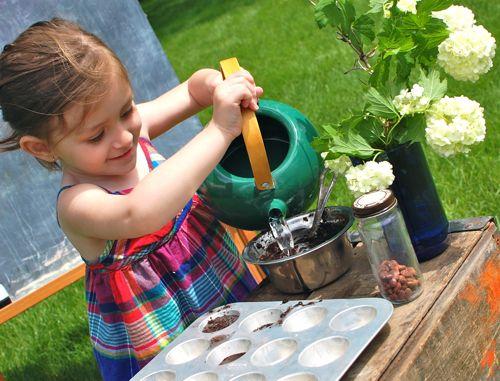 Outdoor Mud Pie Kitchen Inner Child Fun