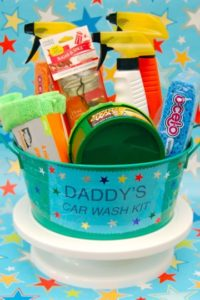 Father's Day Gift — Daddy's Car Wash Kit