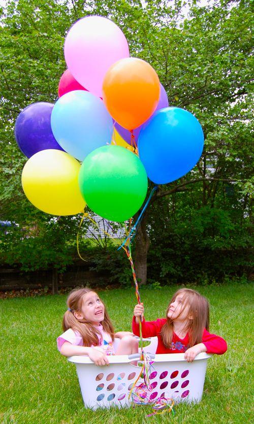 hot air balloon ride inner child fun