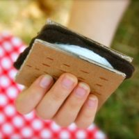 Calorie-Free S'Mores for Pretend Play