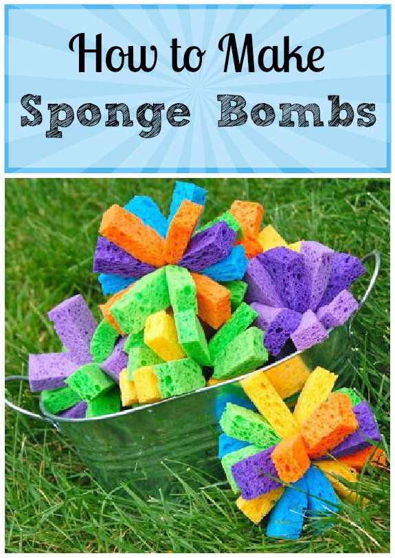 Kids Crafts How To Make Sponge Bombs