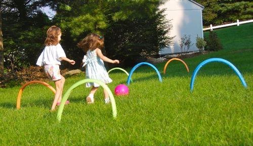 Kickin' it Croquet Style