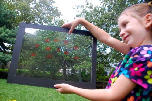 Posing With Plexiglass Inner Child Fun