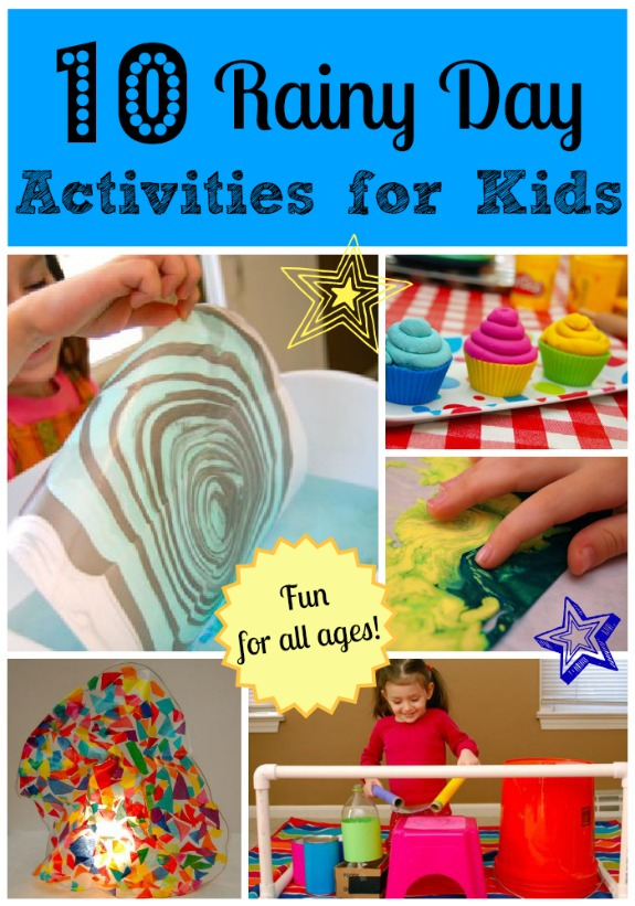 10 rainy day activities for kids inner child fun for Indoor crafts for kids