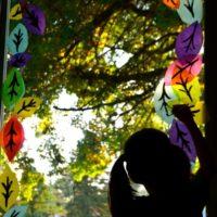 Autumn Window Collage