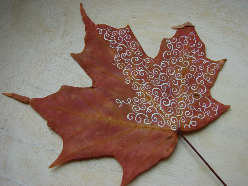 Inspiring fall crafts for kids inner child fun for Leaf crafts for adults
