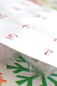 Advent Activity Calendar from an Egg Carton
