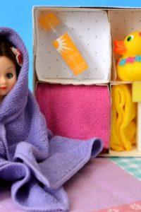 DIY Holiday Gift for Kids — Doll Bath Set