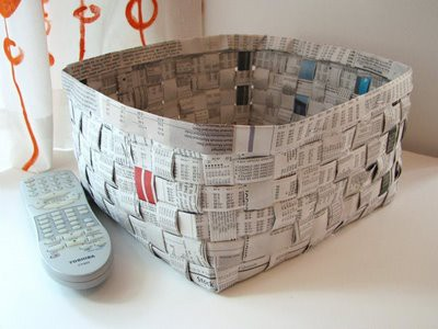 10 Inspiring Things To Make With Newspaper Inner Child Fun