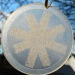 Quick Craft — Salty Snowflake Ornaments
