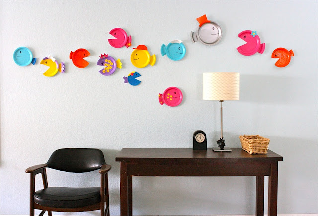 I love the colorful look and simplicity of these Paper Plate Fish! See the full tutorial posted at Made. & 6 Creative Spring Crafts with Paper Plates - Inner Child Fun