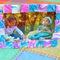 """Tiled"" Photo Frame"