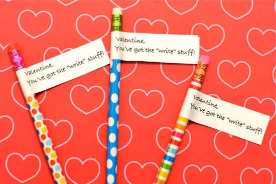 Valentine Pencil Toppers Inner Child Fun
