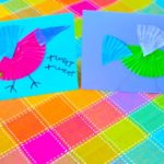 Colorful Bird Card Craft
