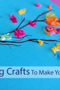 5 Spring Crafts to Make You Smile