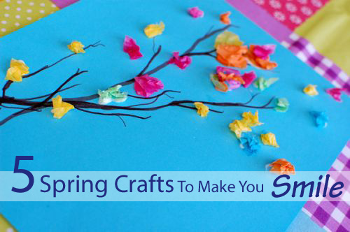 spring crafts to make you smile inner child fun