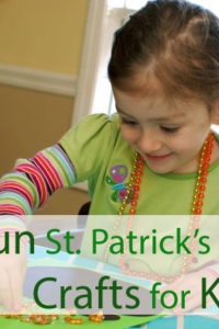5 Fun St. Patrick's Day Crafts for Kids