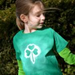 Kid-Made St. Patty's Day T-Shirts