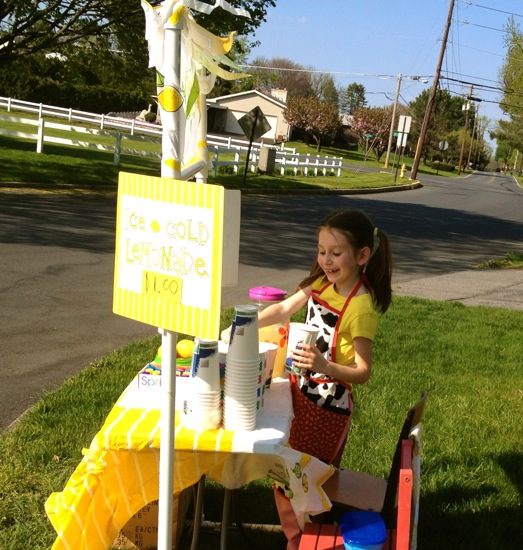 Guest Post by Emily - 10 Tips for a Successful Lemonade