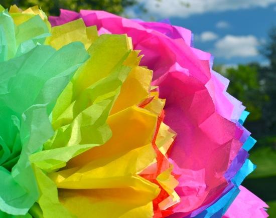 Ginormous tissue paper flowers inner child fun when mightylinksfo