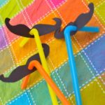 Quick Craft: Silly Moustache Straws