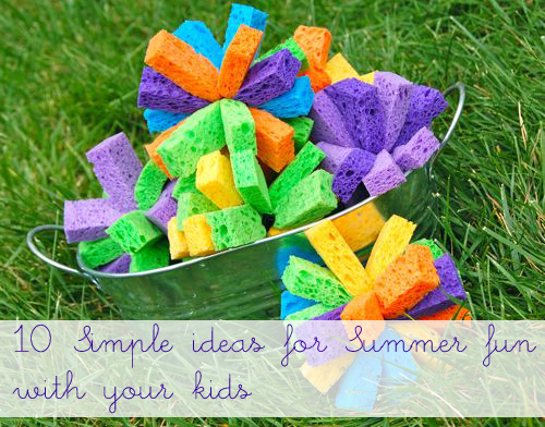 crafts activities and ideas for summer fun with the kids c1PNmzdW
