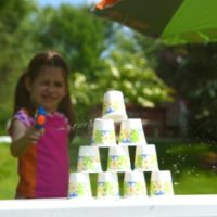 Summer Fun with Kids — Water Pistol Target Range