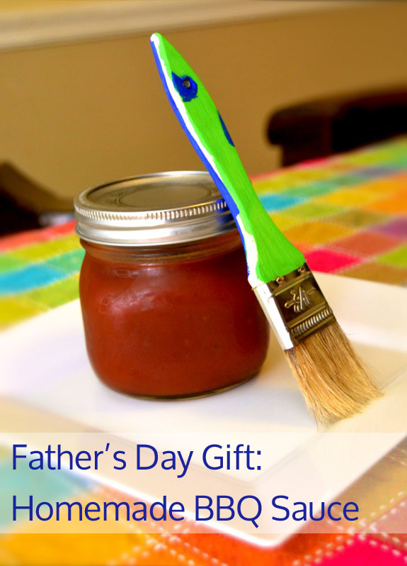 Father S Day Gift Kids Can Make Bbq Sauce Inner Child Fun