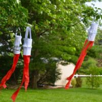 Easy 4th of July Windsock Craft