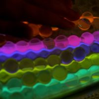 Water Beads and Glow Sticks