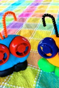 Let's Make Play Dough Critters!