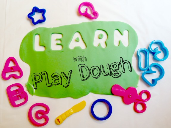 FREE Printable Alphabet Play Dough Mats for Fall!