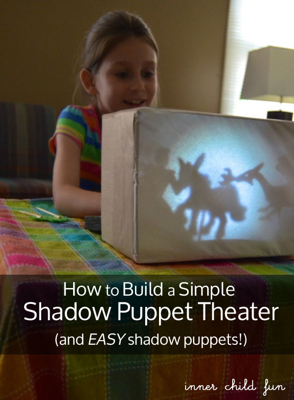 Handmade Shadow Puppet Theater