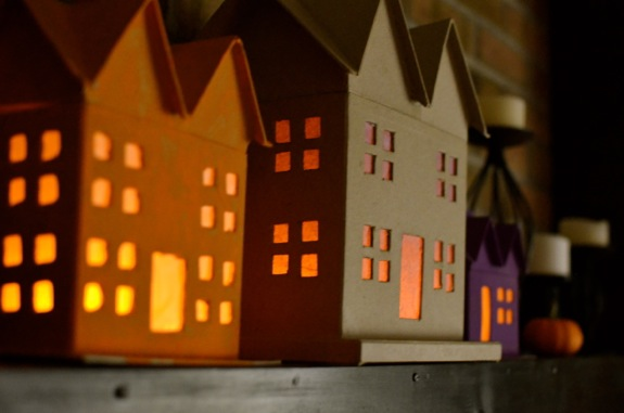 Spooky Paper Mâché Haunted Houses - Inner Child Fun
