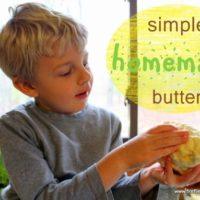 DIY: Simple Homemade Butter