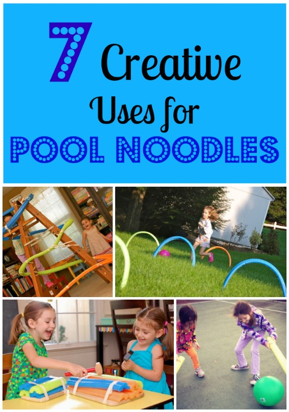 crafts made with pool noodles