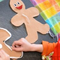 Quiet Time: Felt Gingerbread Cookies