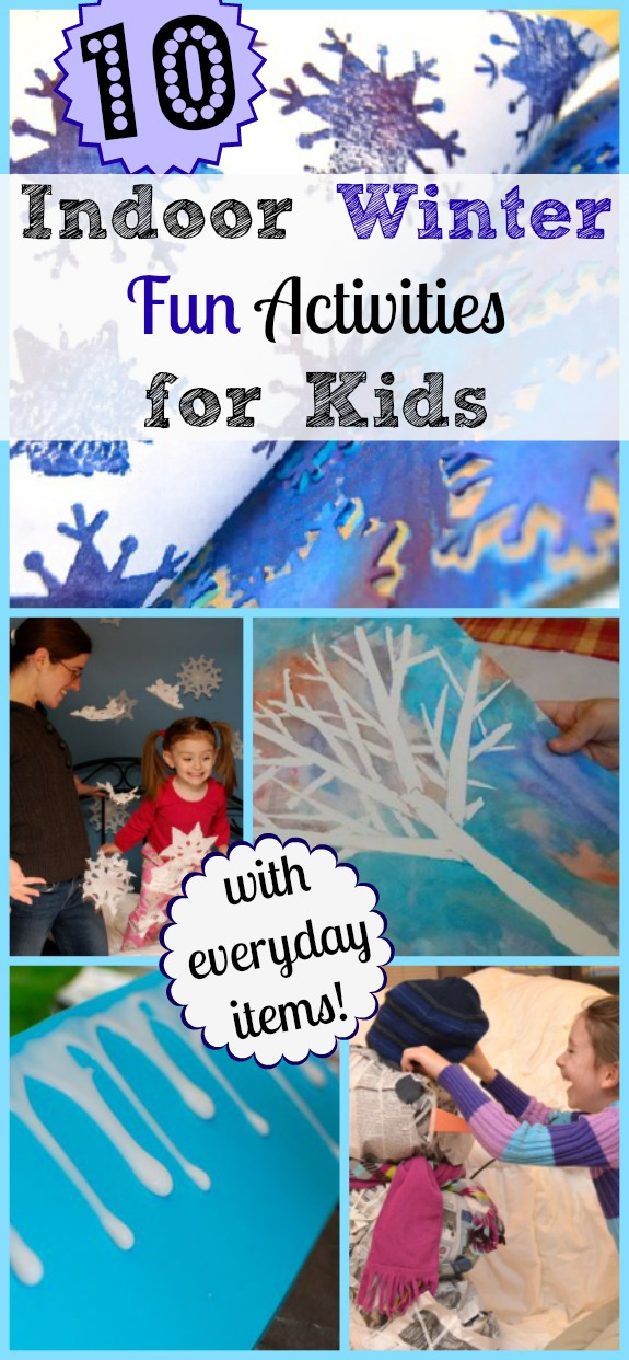 Winter Activities For Kids At Home