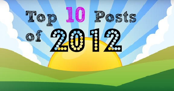 Top 10 Posts of 2012 from Inner Child Fun