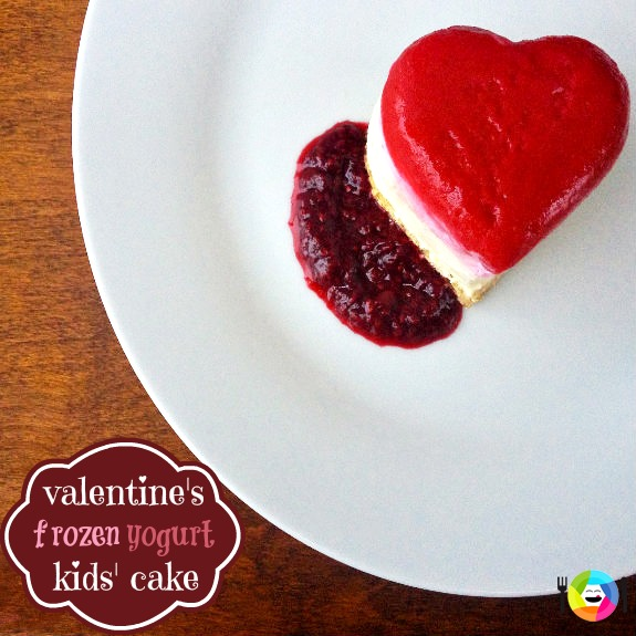 Valentine's Frozen Yogurt Cake Recipe