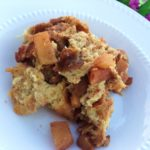 Healthier Slow Cooker Apple Bread Pudding