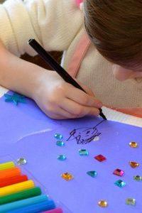 Kid Art: Process-Based Valentines