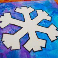 Snowflake Painting