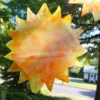 Sun Ornament Craft