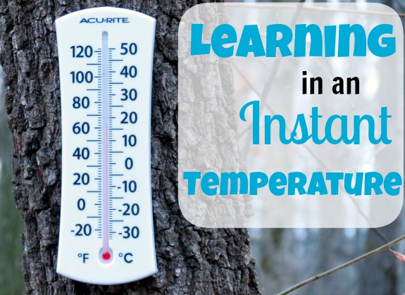Learning in an Instant: Temperature