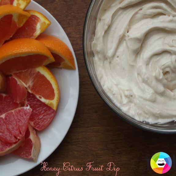 Honey Citrus fruit dip