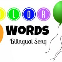 Bilingual Colors Song