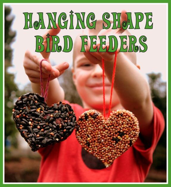 Hanging Shape Bird Feeders