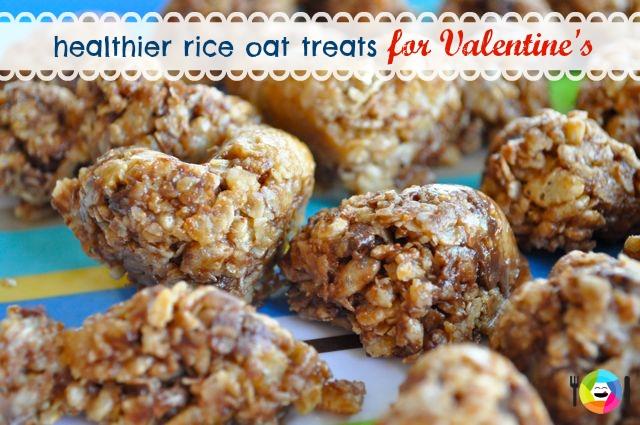 Rice and Oats Healthier Valentine's Treats